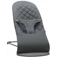BabyBjorn Bouncer Bliss, Cotton, Anthracite 006021