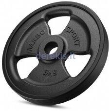 Gumuotas svoris Marbo MW-O5G-kier 5 kg