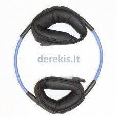 Gynybinė-žingsnio mėlyna guma Ankle-Tube (stipraus tamprumo)