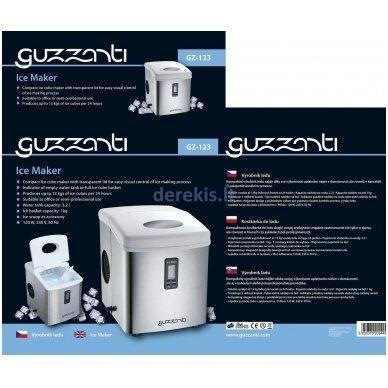 Ledukų gaminimo aparatas GUZZANTI GZ 123 3