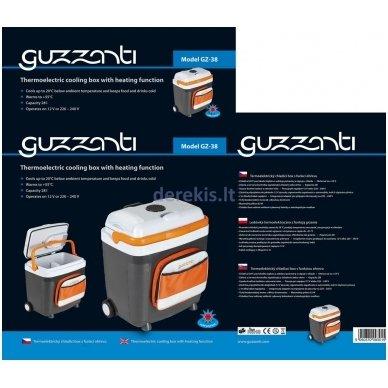 Automobilinis šaldytuvas GUZZANTI GZ 38 6
