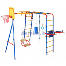 Įbetonuojamas sporto kompleksas vaikams JUNIOR ATLET PLIUS, iki 100kg