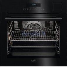 Įmontuojama garinė orkaitė su maisto termometru AEG BSE792320B
