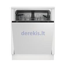 Įmontuojama indaplovė Beko DIN26410