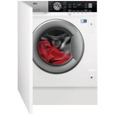 Įmontuojama skalbimo mašina su džiovinimo funkcija AEG L8WBE68SI