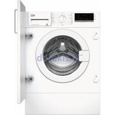 Įmontuojama skalbimo mašina Beko WITC7612B0W