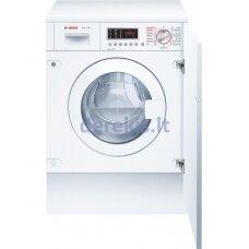 Įmontuojama skalbimo mašina su džiovinimo funkcija Bosch WKD28541EU