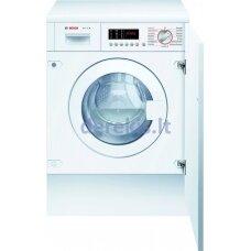 Įmontuojama skalbimo mašina su džiovinimo funkcija Bosch WKD28542