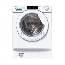 Įmontuojama skalbimo mašina su džiovinimo funkcija Candy CBDO485TWME/1-S