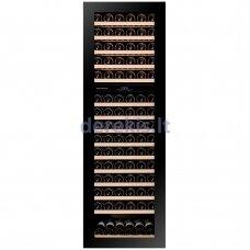 Įmontuojamas vyno šaldytuvas Dunavox Glance-114, DAVG-114.288DB.TO, juodas