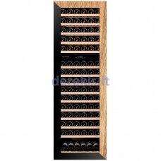 Įmontuojamas vyno šaldytuvas Dunavox Glance-114, DAVG-114.288DOP.TO, juodas/medis