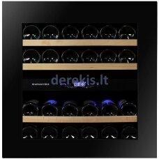 Įmontuojamas vyno šaldytuvas Dunavox Glance-25, DAVG-25.63DB.TO, juodas