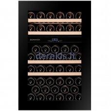 Įmontuojamas vyno šaldytuvas Dunavox Glance-49, DAVG-49.116DB.TO, juodas