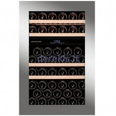 Įmontuojamas vyno šaldytuvas Dunavox Glance-49, DAVG-49.116DSS.TO, nerūdijančio plieno