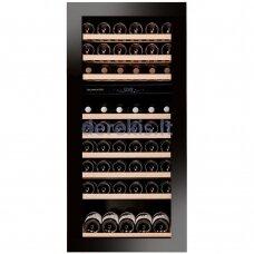 Įmontuojamas vyno šaldytuvas Dunavox Glance-72, DAVG-72.185DB.TO, juodas