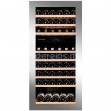 Įmontuojamas vyno šaldytuvas Dunavox Glance-72, DAVG-72.185DSS.TO, nerūdijančio plieno