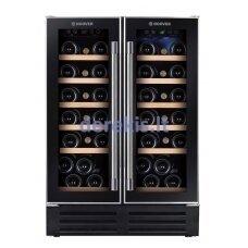 Įmontuojamas vyno šaldytuvas Hoover HWCB 60D