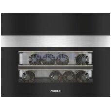 Įmontuojamas vyno šaldytuvas Miele KWT 7112 iG, nerūdijantis plienas
