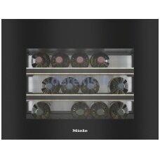 Įmontuojamas vyno šaldytuvas Miele KWT 7112 iG, obsidiano juoda