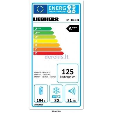 Įmontuojamas šaldytuvas LIEBHERR ICP 3334 4