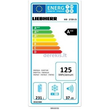 Įmontuojamas šaldytuvas Liebherr IKB 2720 4