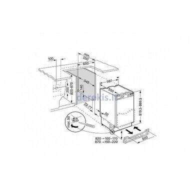 Įmontuojamas šaldytuvas Liebherr UIK 1510 6