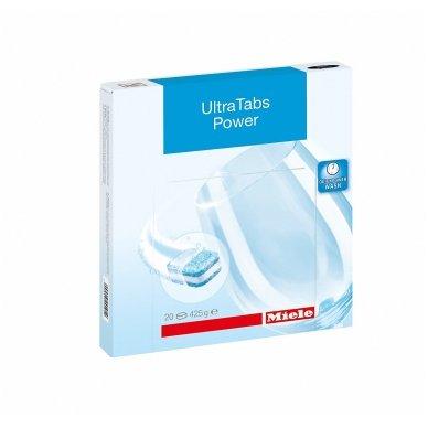 Indaplovių tabletės Miele UltraTabs Power GS CL 0205 T, 20 vnt
