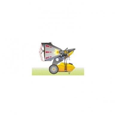 Infraraudonųjų spindulių dyzelinis šildytuvas MASTER  XL 9 SR 3