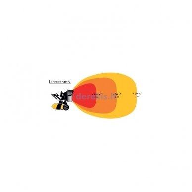 Infraraudonųjų spindulių dyzelinis šildytuvas MASTER  XL 9 SR 4