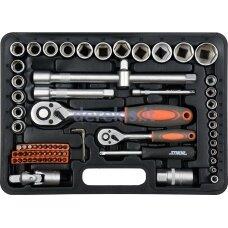 Įrankių rinkinys TOYA 58705, 72vnt