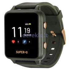 Išmanusis laikrodis vaikams Gudrutis Super-G Active, žalias