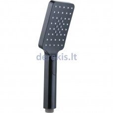 Juodas rankinis dušelis Deante Alpinia NGA N51S