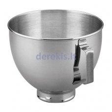 Priedas KitchenAid 5K45SBWH - Metalinis indas - 4,28l
