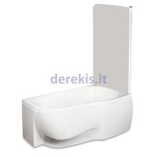 Kampinė akrilinė vonia PAA MAMBO (spalvą galima pasirinkti)
