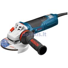 Kampinio šlifavimo mašina Bosch GWS 19-125 CIST Professional, 060179S002