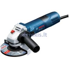 Kampinio šlifavimo mašina Bosch GWS 7-115 Professional, 0601388107