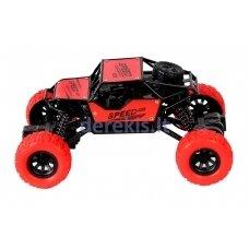 Kaskadininko automobilis - raudonas