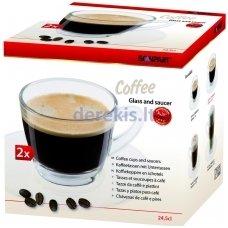 Kavos stikliniai puodeliai 275 ml, Scanpart