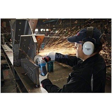 Kampinio šlifavimo mašina Bosch GWS 19-150 CI Professional, 060179R002 3