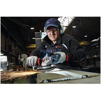 Kampinio šlifavimo mašina Bosch GWS 19-150 CI Professional, 060179R002 4