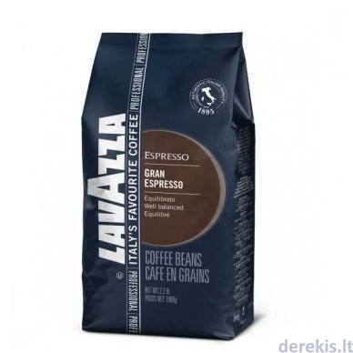 Kavos pupelės Lavazza Gran Espresso 1kg