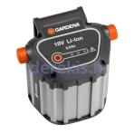 Keičiamas ličio jonų akumuliatorius Gardena BLi-18, 9839-20 (967102001)
