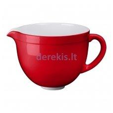 Keramikinis indas KITCHENAID 5KSMCB5EER, raudonas