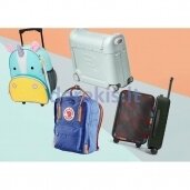 Children's suitcases and backpacks