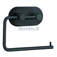 Klijuojamas tualetinio popieriaus laikiklis BESLAGSBODEN BB1097, juodas