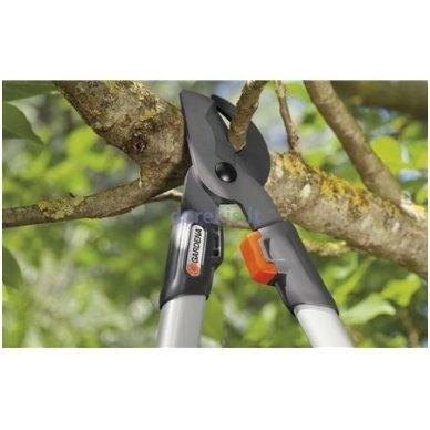 Klasikinės medžių genėjimo žirklės Gardena 480B, 967251801 3