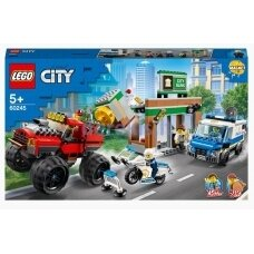 Konstruktorius LEGO City Policijos sunkvežimio monstro apiplėšimas 60245, 362 vnt.