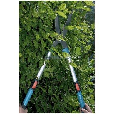 Komfortiškos gyvatvorių žirklės Gardena 700 T, 394-20 (900842601) 3