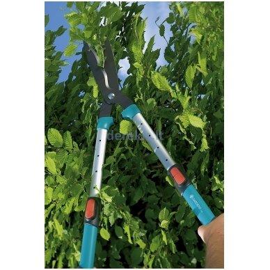 Komfortiškos gyvatvorių žirklės Gardena 700 T, 394-20 (900842601) 5