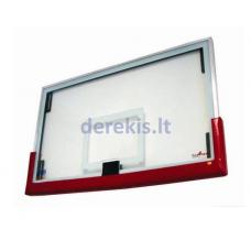 Krepšinio lenta Euroatletas, 180x105 cm, stiklinė
